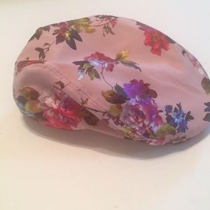 58680a68f2c05 david and young · David and Young satiny floral print hat